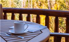 Coffee on the deck