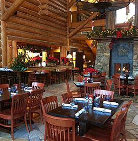 Christmas Set for Dining of The View Bar & Grill
