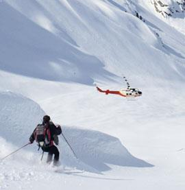 Heli-Skiing in Telluride