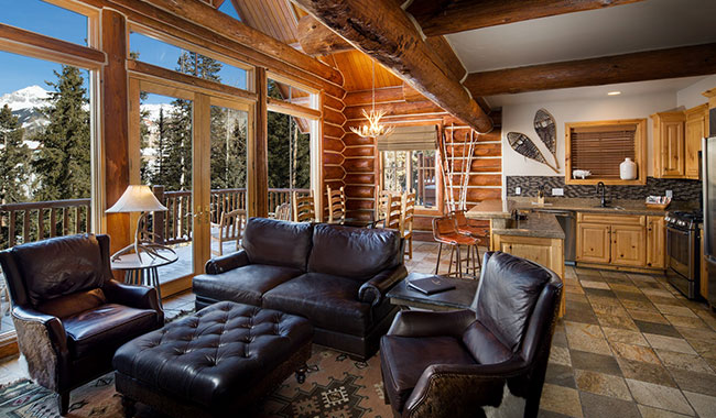 Luxurious telluride lodging cabins mountain lodge for Telluride colorado cabin rentals