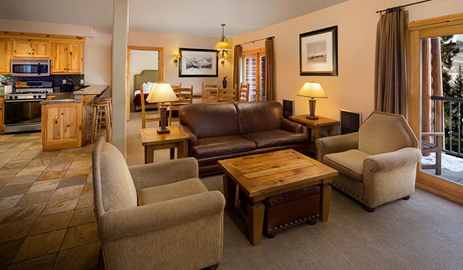 Mountain Lodge Telluride Two Bedroom Suite with Full Kitchen