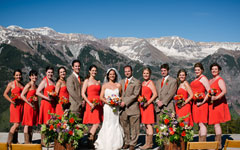 Romantic Mountain Weddings in Telluride